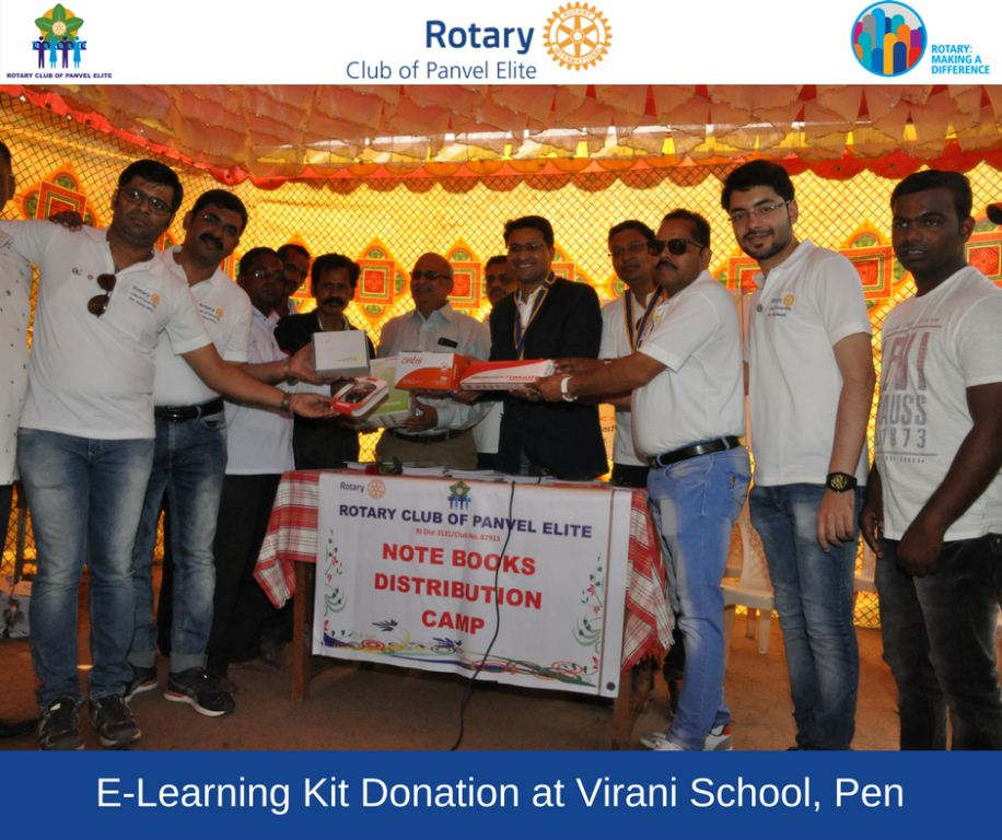 Projects - Rotary Club of Panvel Elite: Rotary International Year